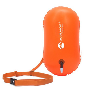 PVC Въздушна възглавница за безопасно плуване в оранжев, жълт и розов цвят