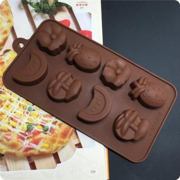 Практична силиконова форма за печене на сладки и бисквити