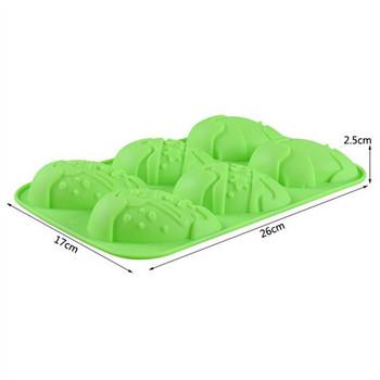 Великденска силиконова форма за сладки и бонбони