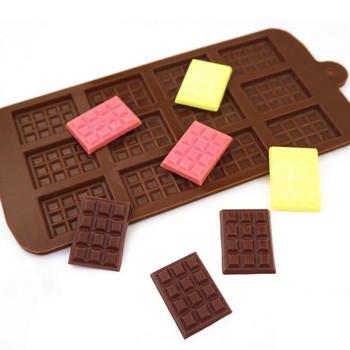 Силиконова форма за шоколадови бонбони с размер  21.5 * 11.5 * 2.5CM
