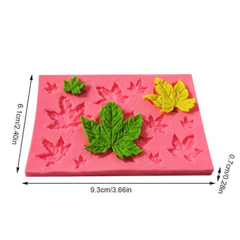 3D силиконова форма за бонбони и бисквити с размер 6.1*9.3*0.7 см