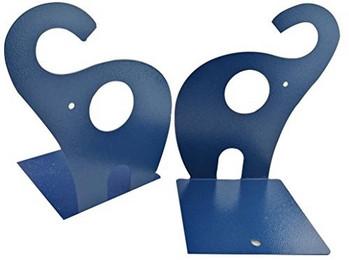 Метална поставка за книги и списания във формата на слон