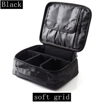 Професионален водоустойчив куфар за гримове с голям капацитет в два модела с различно вътрешно разпределение