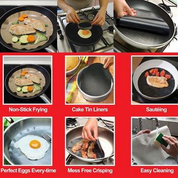 Незалепваща се подложка за пържене и готвене
