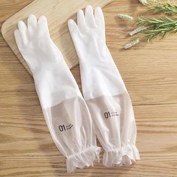 Студеноустойчиви нехлъзгащи се кухненски ръкавици за миене на съдове