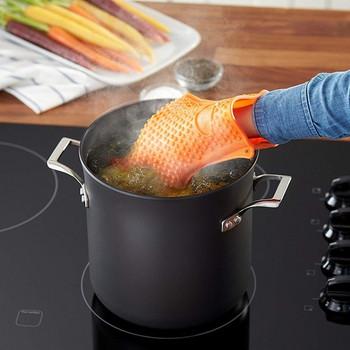 Термоустойчиви силиконови кухненски ръкавици